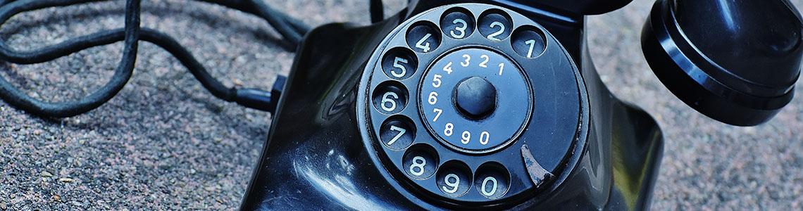 kontakt, telefón, e-mail