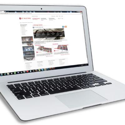 AR Storage správa web stránky