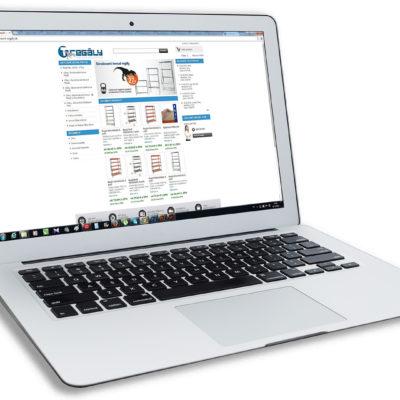 e-shop t-regaly.sk pre Technometal s.r.o.