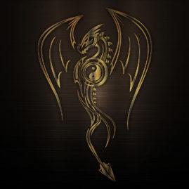 drak kovový